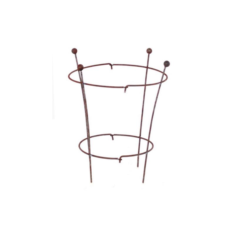 rankhilfe zweiteilig massiv eisen 34 95. Black Bedroom Furniture Sets. Home Design Ideas