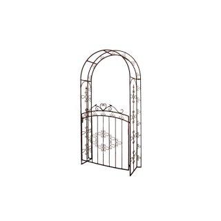 rosenbogen aus metall braun lackiert 199 00. Black Bedroom Furniture Sets. Home Design Ideas